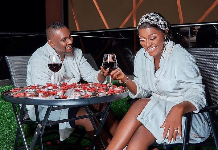 PHOTOS: Chacha Eke, hubby release breathtaking photos on eight wedding anniversary