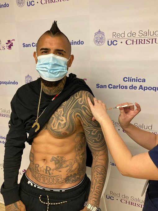 Inter's Vidal contracts COVID-19 days after receiving vaccine