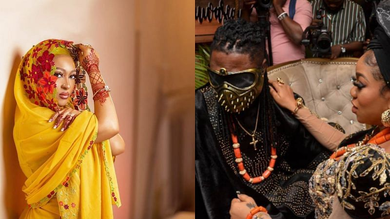Wedding: Fans slam Rosy Meurer over congratulatory message to Toyin Lawani