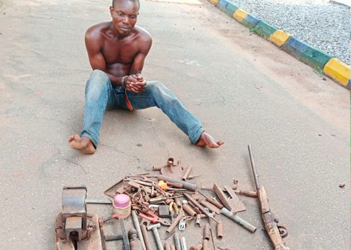 PHOTOS: Gunrunner, cultists, others arrested in Delta