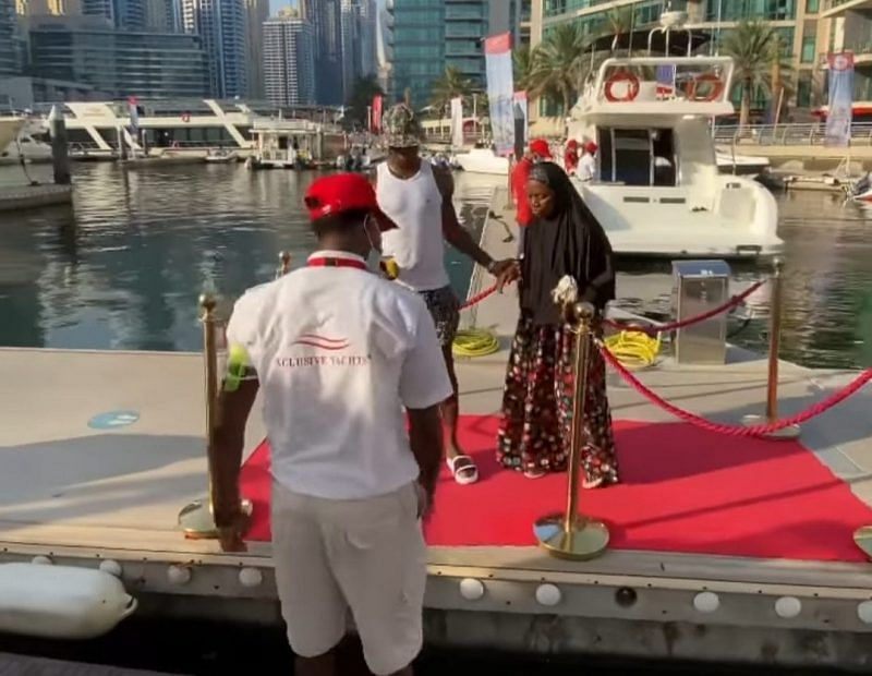 VIDEO: Ighalo, mom go on vacation