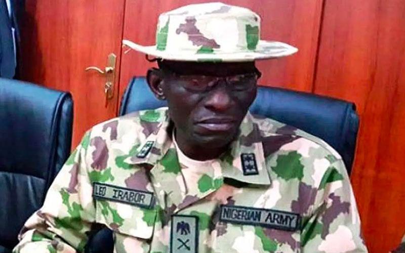 Army chiefs move to Borno ahead of Buhari's visit