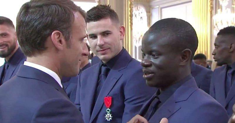 France President Macron backs Chelsea star N'Golo Kante for Ballon d'Ór