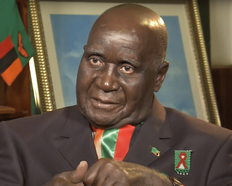 Zambia's first president Kaunda for burial July 7