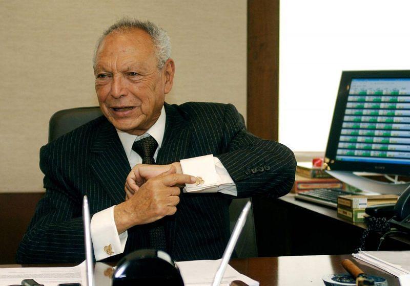 Egyptian billionaire, Onsi Sawiris, diesat 90