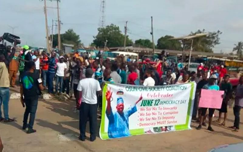 June 12: Sowore's group allegedly disrupts Democracy Day lecture in Osun