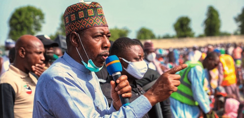 Security plans can't succeed when people are hungry, live in poverty, says Zulum