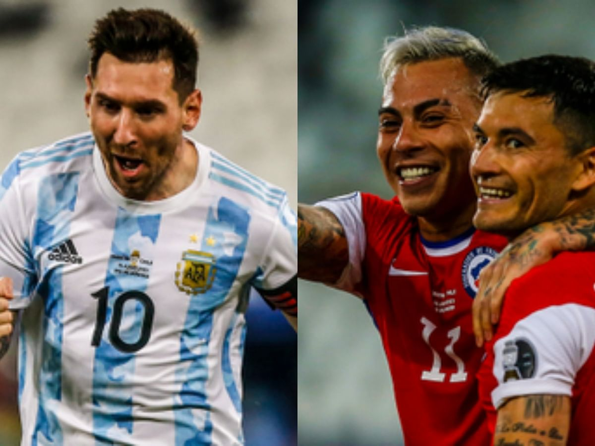 Copa America: Vargas cancels Messi's opener as Chile hold Argentina