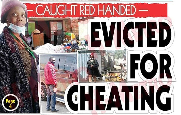 Housewife caught in bed with another man accuses husband of set-up