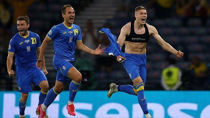 Ukraine eliminate Sweden from EURO 2020