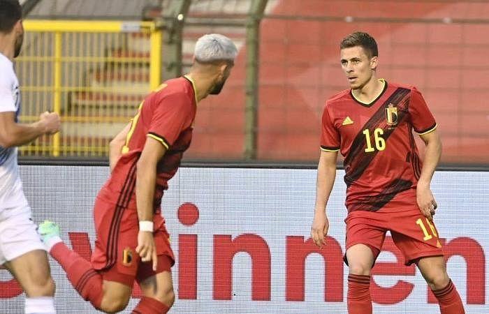 Hazard on target as Greece hold Belgium 1-1