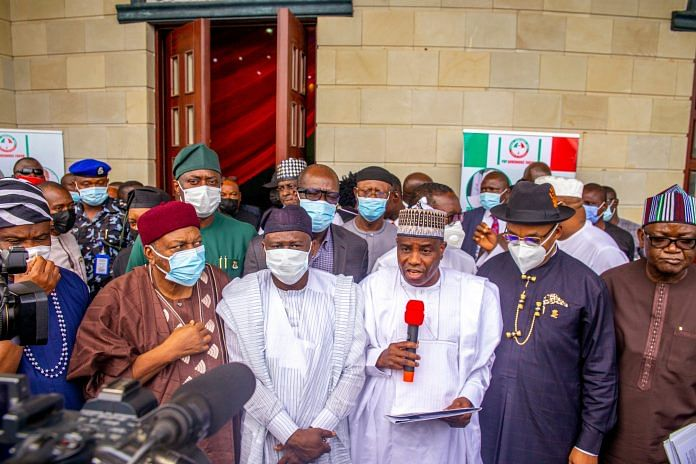 PDP Govs express shock over presidency's response to communique