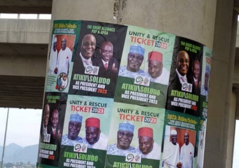 APGA youths protest Atiku, Soludo posters in Abuja