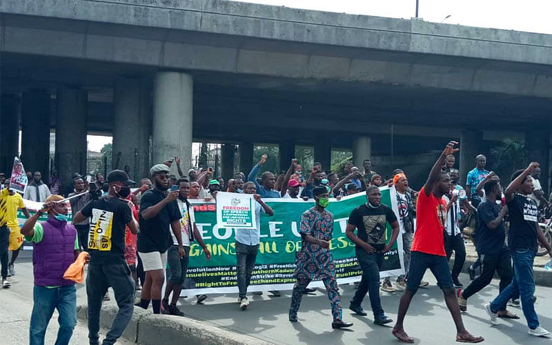 June 12: Ibadan youths defy police threat, stage protest