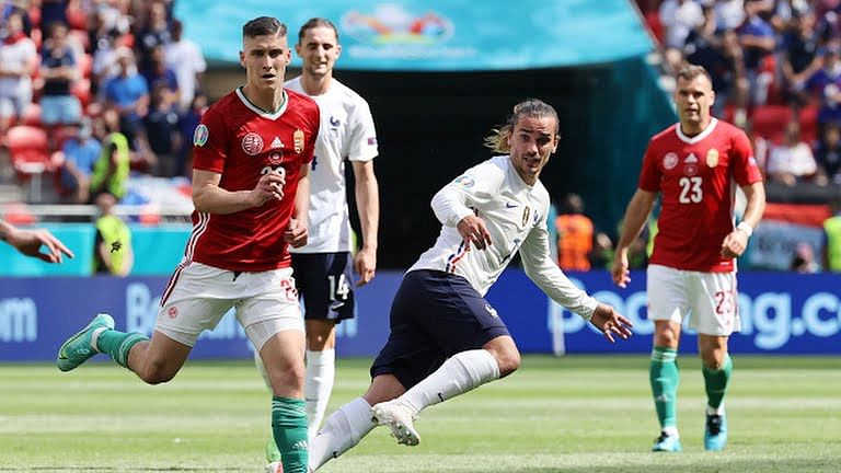 EURO 2020: Griezmann rescues France from Hungary defeat
