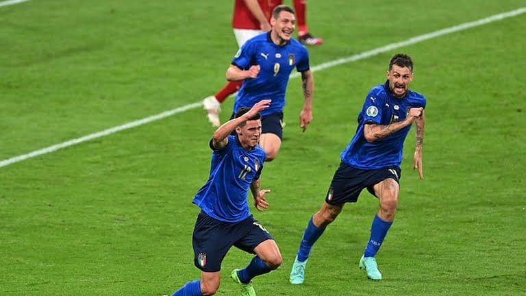 EURO 2020: Italy edge Austria 2-1 after dramatic extra time