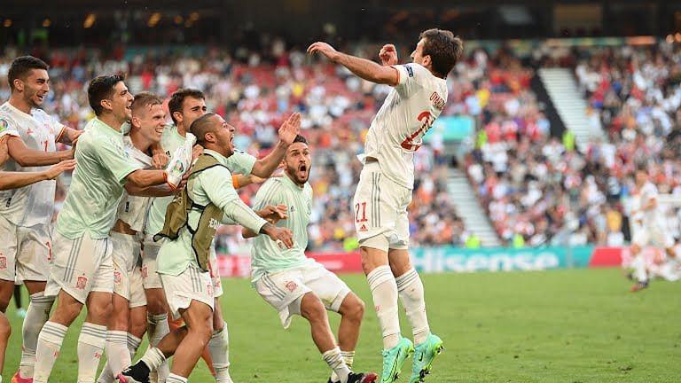 EURO 2020: Spain oust Croatia in dramatic eight-goal thriller