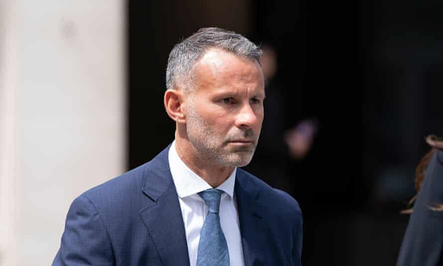 Ryan Giggs throws ex-girlfriend out of hotel room 'naked'