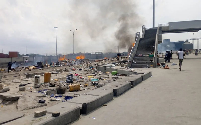 Lagos hoodlums engage police, soldiers in gun battle