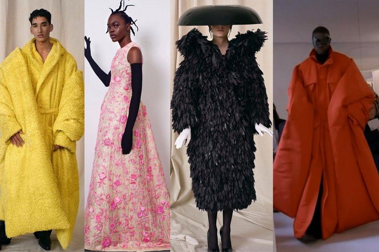 50 years after, Balenciaga makes striking comeback in couture show