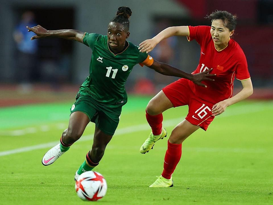 Banda scores hat-trick again as Zambia draw 4-4 with China