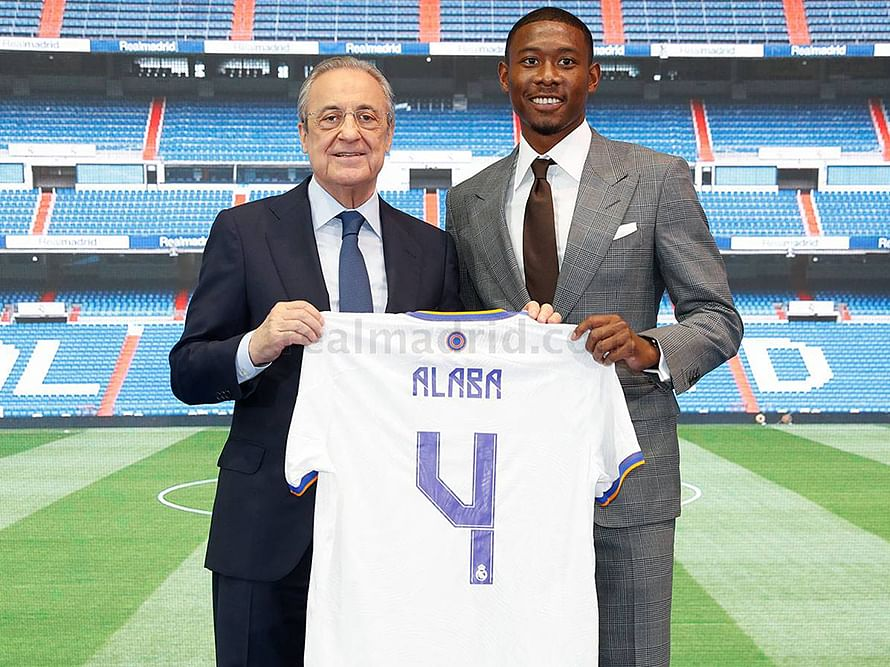 Why Madrid's new signing Alaba picks Ramos' iconic shirt number