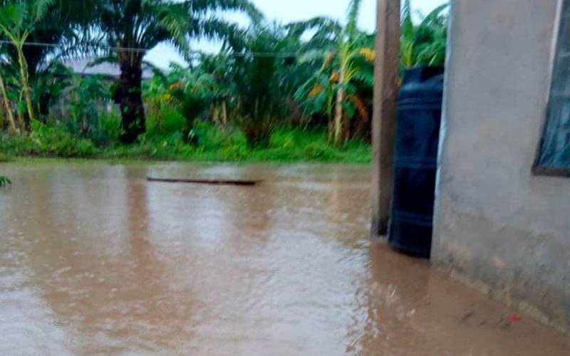 Heavy rainfall, floods destroy houses, displace Ekiti residents