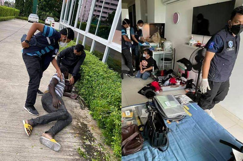 Nigerian man evading arrest jumps from third floor in Thailand