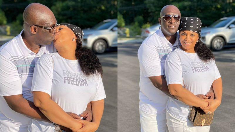 PHOTOS: Sammie Okposo, wife celebrate 11th wedding anniversary