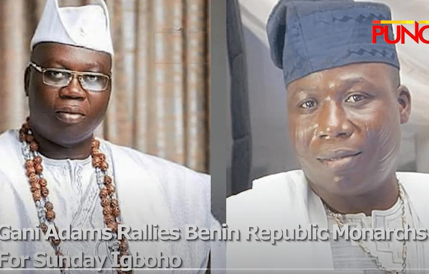 VIDEO: Gani Adams rallies Benin Republic monarchs for Sunday Igboho