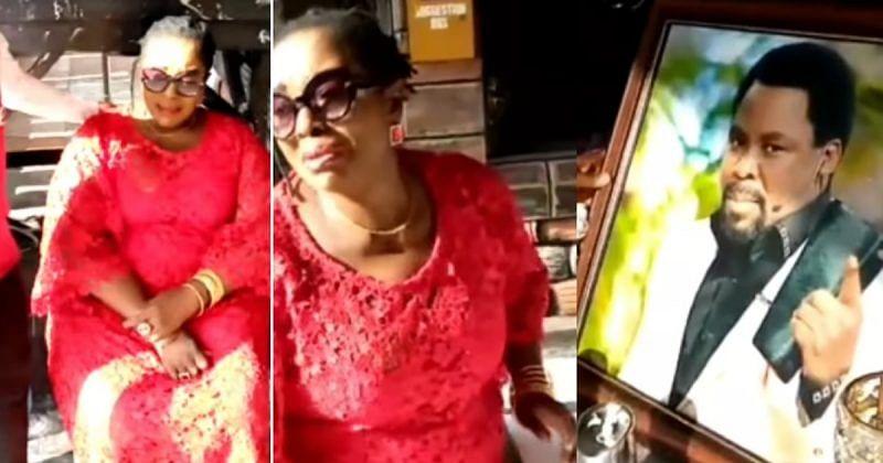 [VIDEO] TB Joshua: Teary veteran actress Rita Edochie visits SCOAN