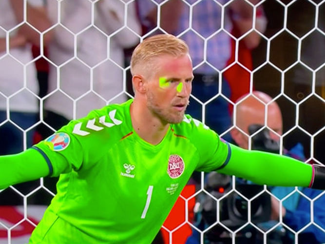 EURO 2020: England faces disciplinary charges over 'laser pointer' attack on Schmeichel