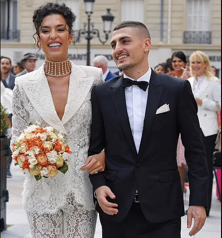 PHOTOS: PSG midfielder Marco Verratti ties knot with second wife