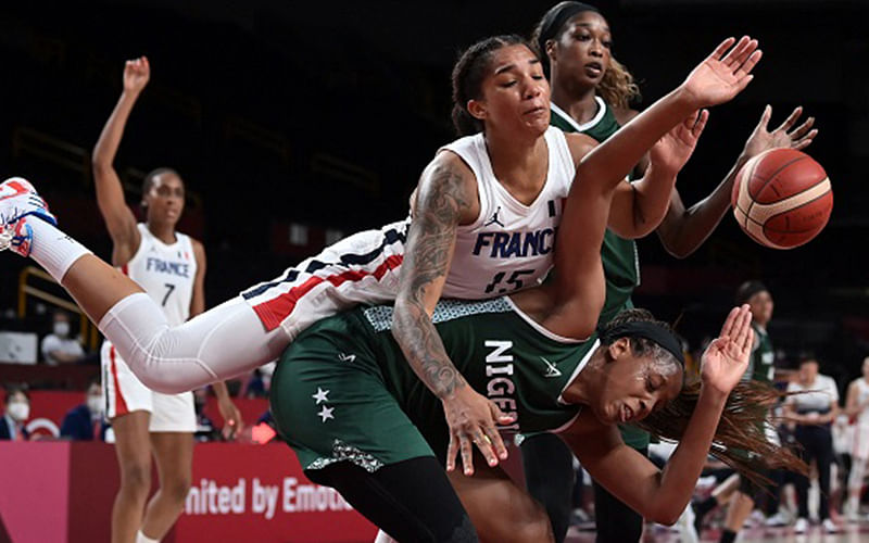 D'tigress land in Yaounde, to defend Afrobasket titles