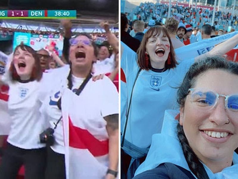 EURO 2020: Lady fired after boss caught her watching England semi-final
