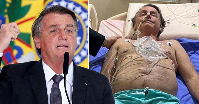 Bazil's president Bolsonaro hospitalised after days of hiccups