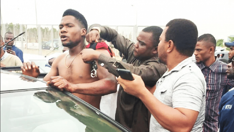 Motorists rescue man abducted while peeing in Abuja