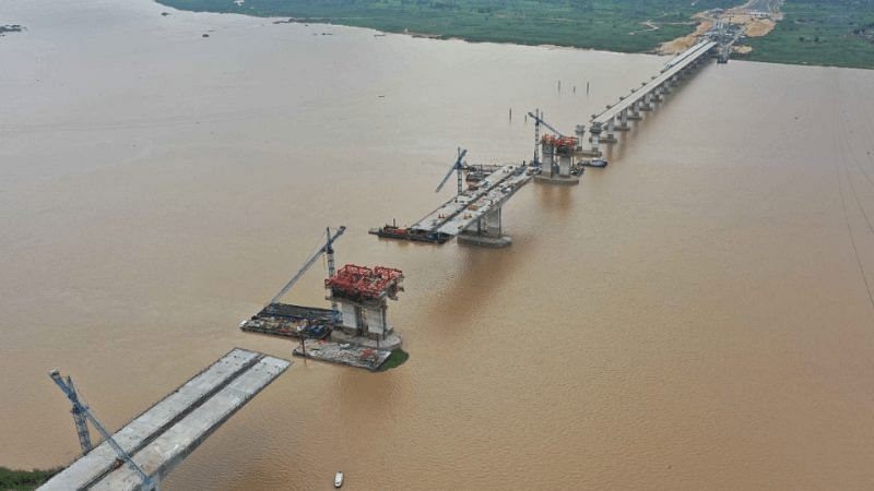 PHOTOS: Ongoing construction work at Second Niger Bridge