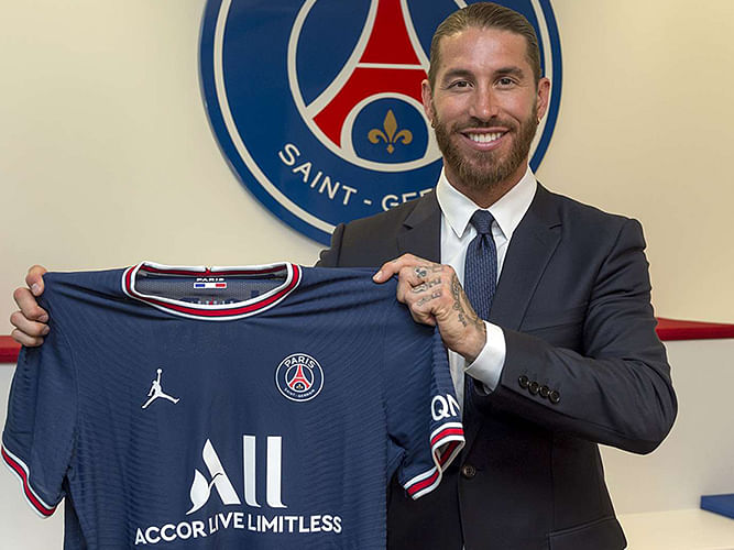 Sergio Ramos excited after signing two-year deal with PSG