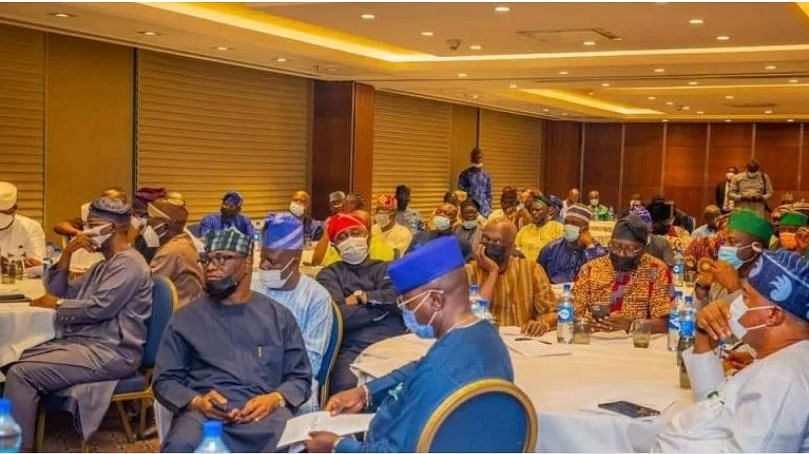 JUST IN: South-West govs, lawmakers reach agreement over constitution review