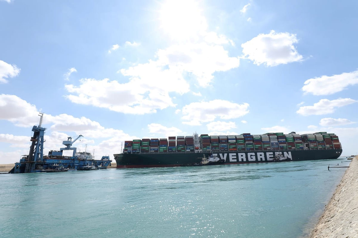 Egypt, Japan reach agreement over blockade of Suez Canal