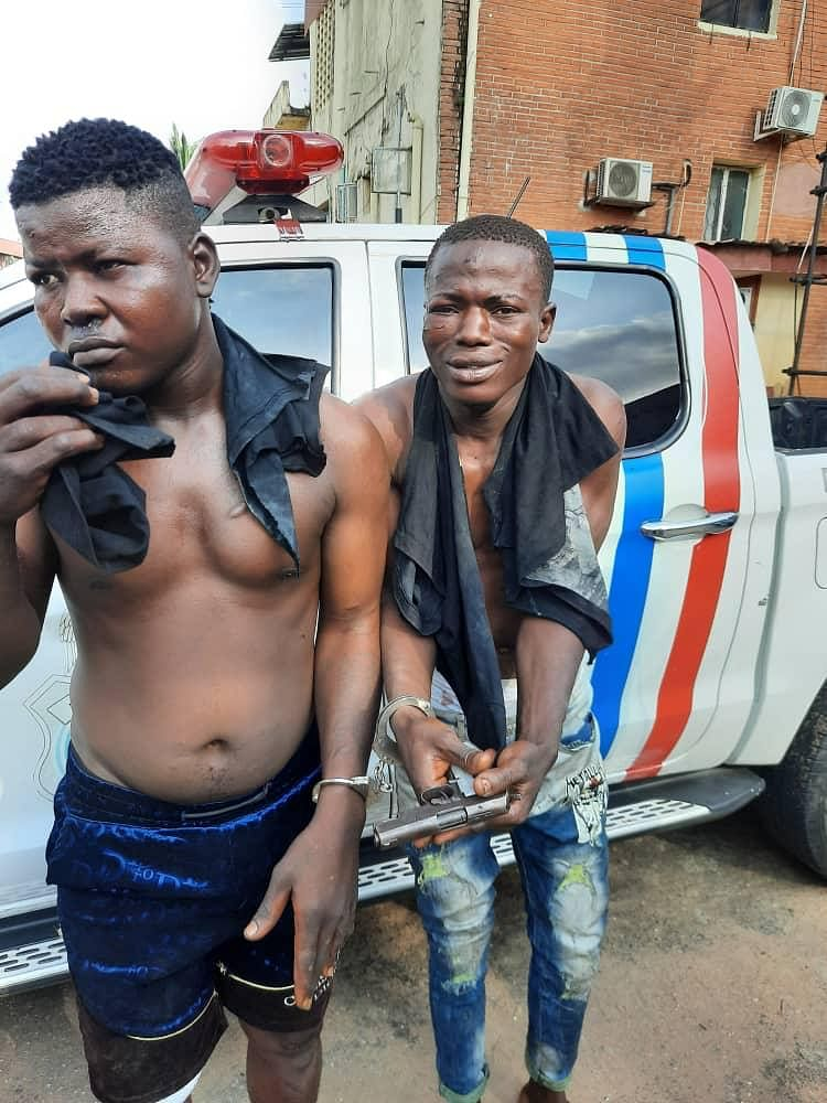 RRS arrest two robbery suspects in Oshodi