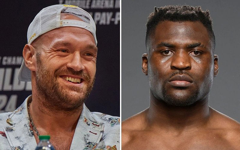 Fury to fight UFC champion Ngannou after Wilder/Joshua bout