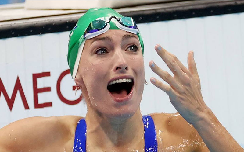 Olympics: Schoenmaker shatters world record to win Africa's first gold