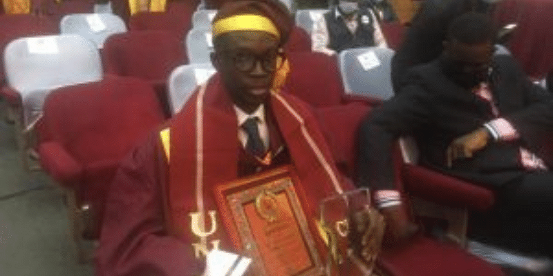 Passion, hard work, my driving force – UNILAG best graduating student