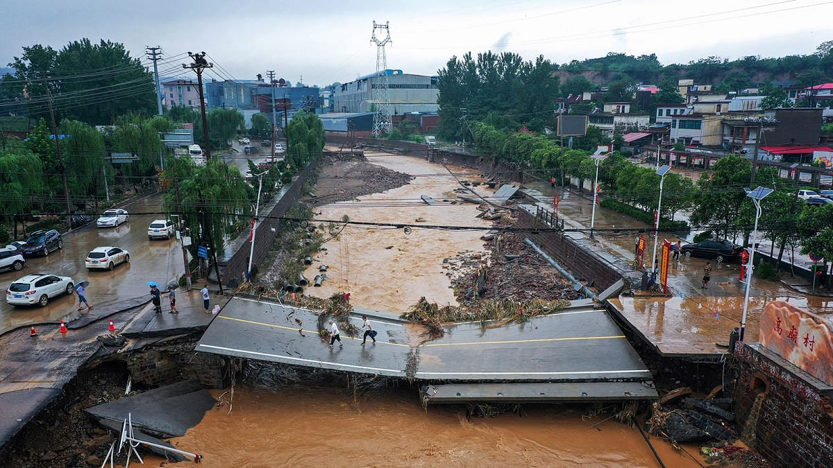 Death toll rises to 56 after flooding in China's Zhengzhou