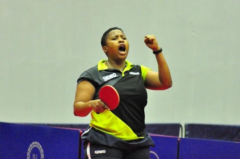 Olympics: Team Nigeria's Edem crashes out of table tennis women's singles