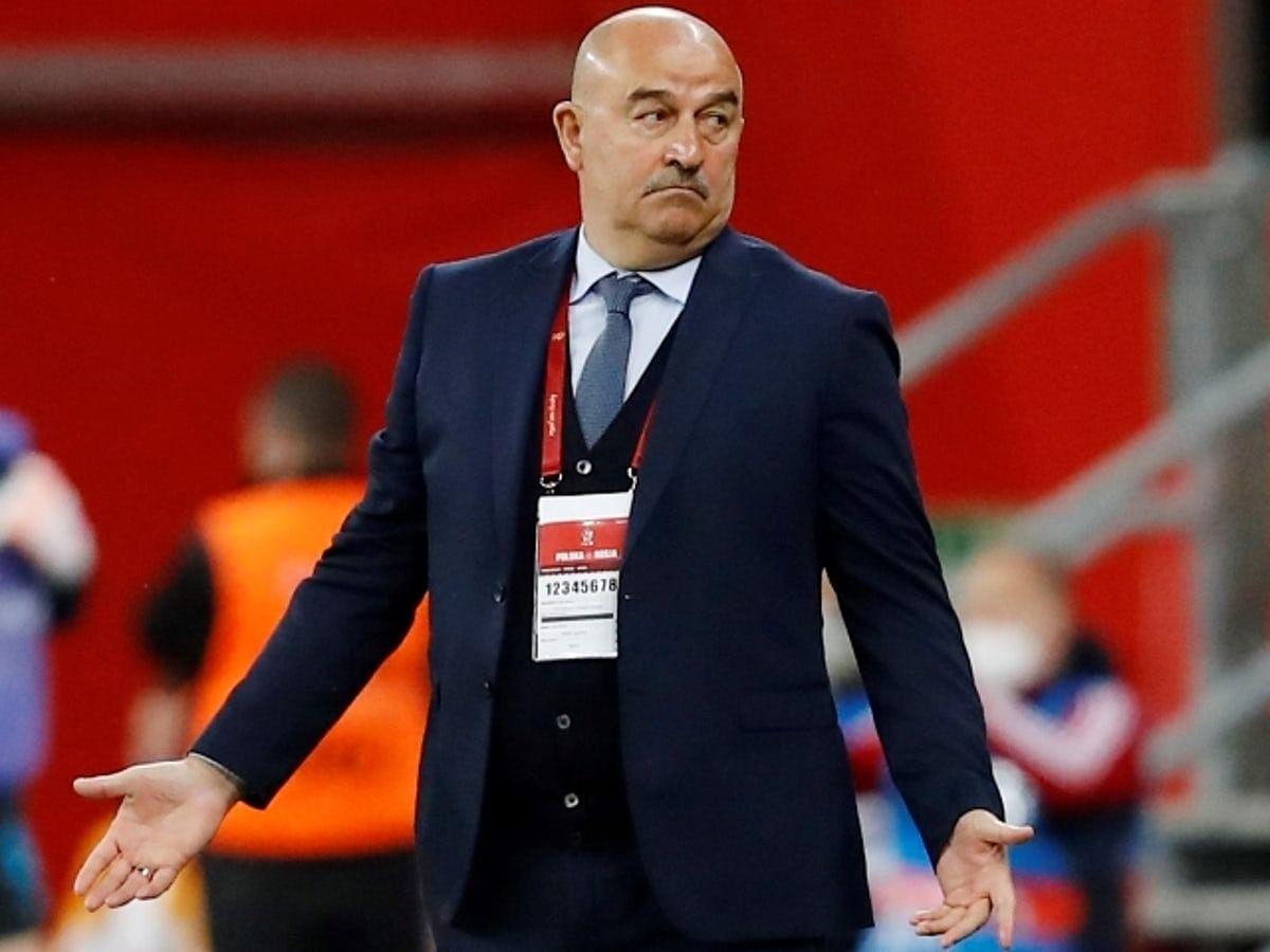 Russia sack head coach Cherchesov