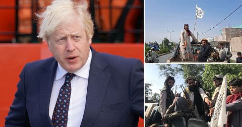 No country should recognise Taliban govt, Boris fumes as UK diplomats flee Afghanistan