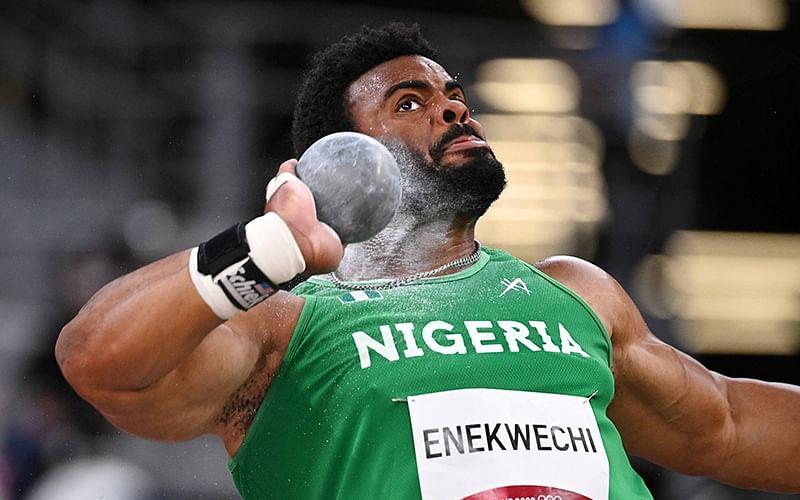 Olympics: Nigeria's Enekwechi reacts to shot put final loss
